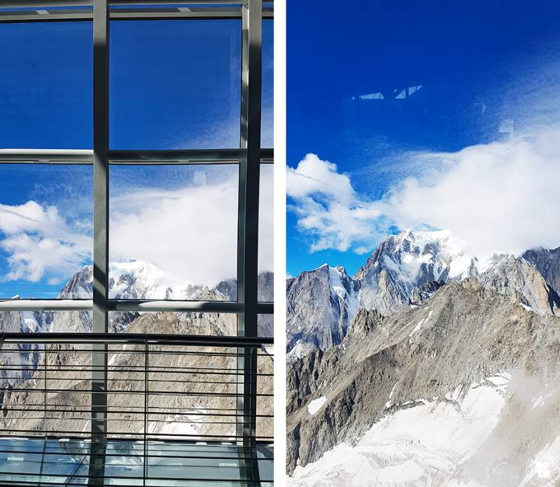 Panorama Skyway Monte Bianco